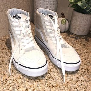 VANS high top sneakers